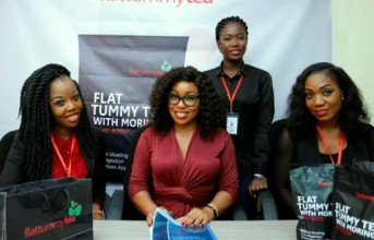 Rita Dominic Is the New Face of FlatTummyTea.ng! (photos)