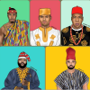 foreign celebrities rock African attires