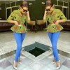 How To Rock Ankara With Jeans And Still Slay Like A Queen.