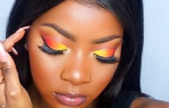 Hey Makeup Lovers, Here Is How To Get That Sunset Look (Video).