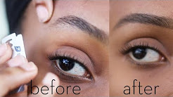 DIY: How To Perfectly Shave Your Eyebrows At Home (Video).