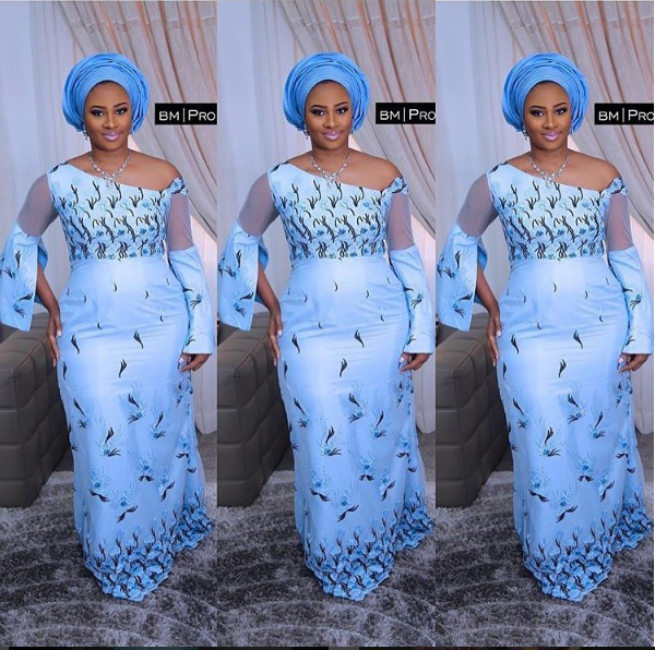 Nigeria latest asoebi gowns