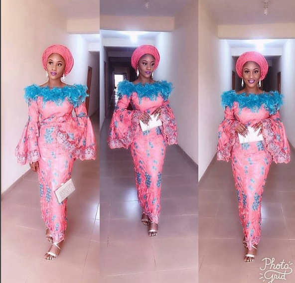 latest asoebi gown in Africa