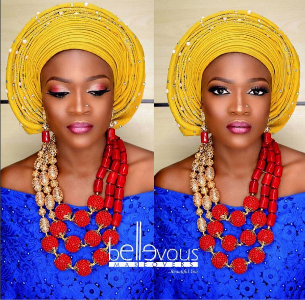 nigeria bridial makeup