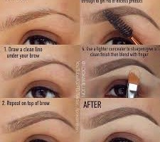 Brow Tutorials: How To Slay Your Brows (Video).