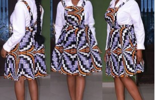 African Ankara Inspired Corporate Work Outfits.