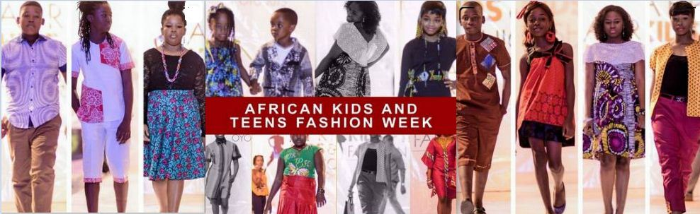 African Kids and Teens Fashion Week 2017.
