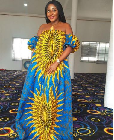 Check Out The New Celebrity Ankara Styles.