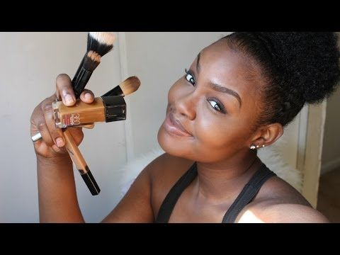 Flawless Foundation Makeup Routine For Dark Skin (Video).