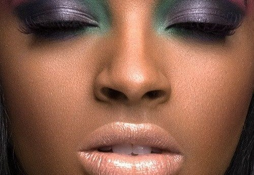 Get The Sunset Eyeshadow Makeup For Dark Skin (Video).