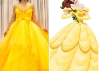 Toke Makinwa Is A Disney Princess In This Stunning Yellow Gown.