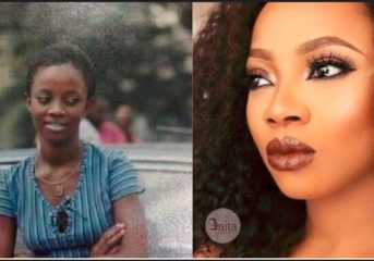 Skin Bleaching: Toke Makinwa Is Now Looking Like The Last Days Of Michael Jackson- Comedian Omini (Video).