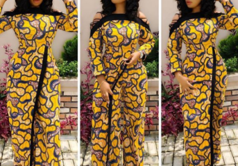Mid-Week Ankara Inspired Fashion (Photos).