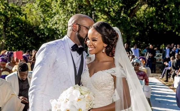 BankyW And Adesua Etomi Official Tie The Knot #BAAD2017. (Wedding Photos).