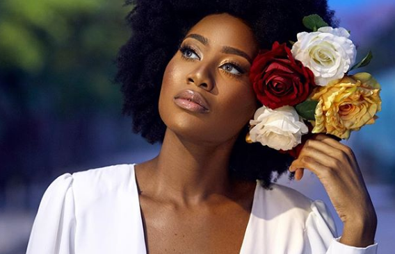Natural Hair Goals: Efik Zara Is Our Beauty Hair Crush For The Week.