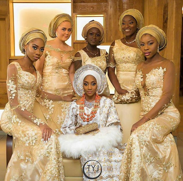Bridal styles in Nigeria