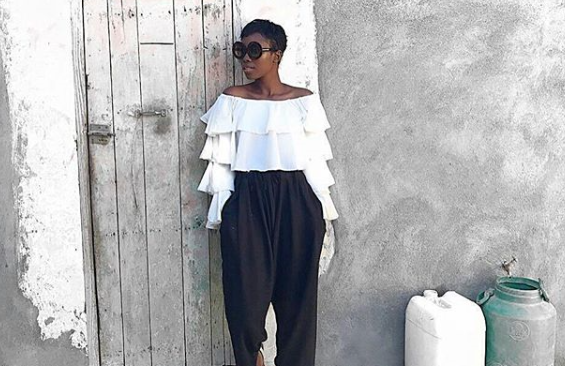 Set The Trend This Season With Black, White And African Colours.