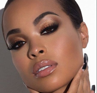 Simple but Chic Makeup Inspirations for my Melanin Sisters.