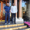 Dangote Looks Dapper in Casual Wear as he Steps Out With Femi Otedola in Monaco.