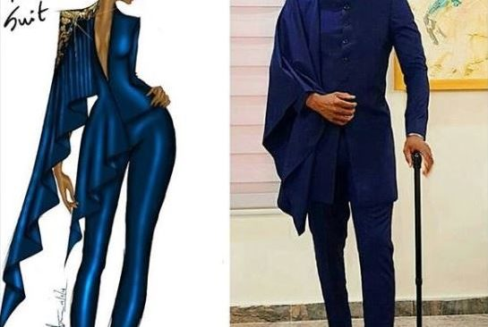 Fashion Illustrator Calls Out Ebuka For Using her Idea Without Giving Due Credit.