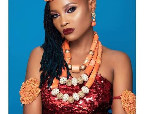 BBNaija's Marvis Shares Braless Open Chest Photo to Celebrate her 28th Birthday.