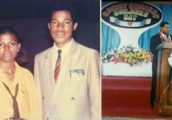 Throwback Pictures of Pastor Chris Oyakhilome Years Ago.