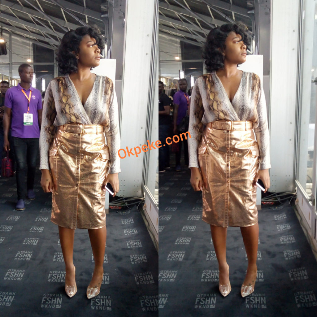 outfits from gtbank fashion week