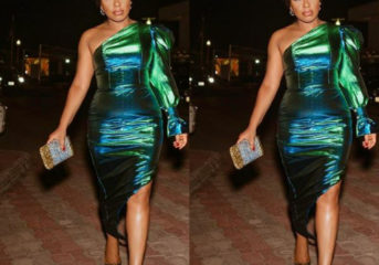 Rita Dominic Steps out for AFRIFF Looking all Shades of Beautiful.