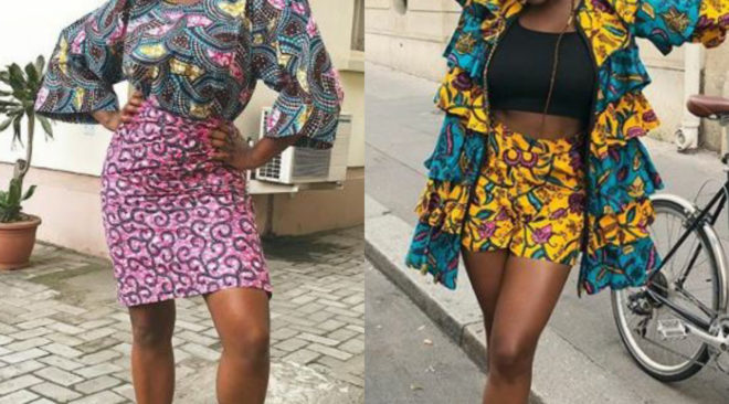 DJ Cuppy's  Ankara Collection.