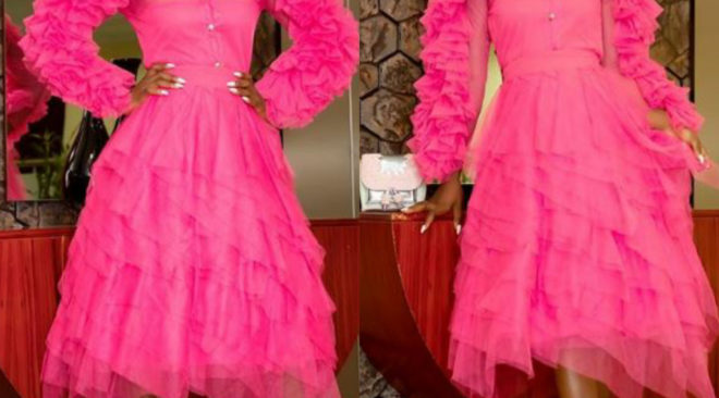Alex Unusual's Look to the Breast Cancer Fundraising Dinner.