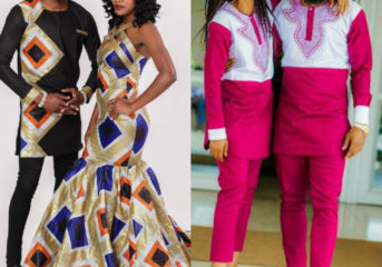 Latest African Styles Black Couples are Wearing.