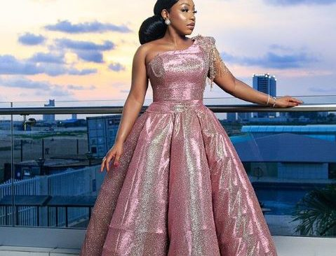Rita Dominic is a real life Fairytale Princess in this Custom Gown.