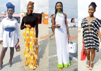 Stunning Outfits Ladies Wore to GTBank Fashion Weekend.