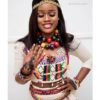 Cee-C is so Charming in Fulani Outfit.