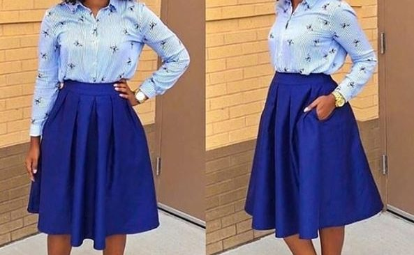 Flare Skirt for that Corporate Look.
