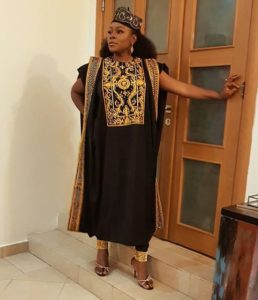 agbada for women