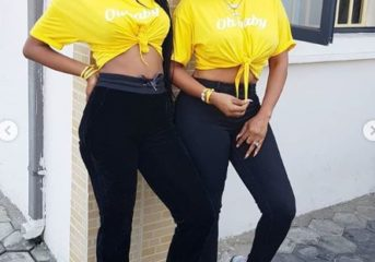 Nollywood Actress, Iyabo Ojo is Twinning with her Daughter.