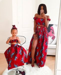 matching outfits for mother and child