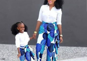 Ankara Styles for Mother and Daughter(s).