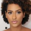 Juliet Ibrahim Rocks her Natural Hair with Nude Makeup in New Photos.