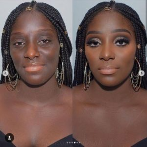 makeup for dark women
