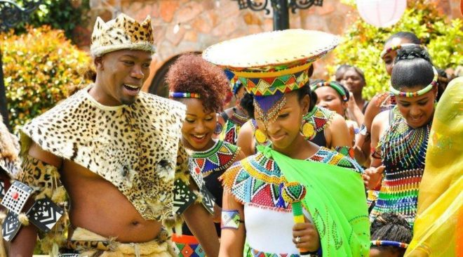 6 Elegant African Traditional Wedding Attires.
