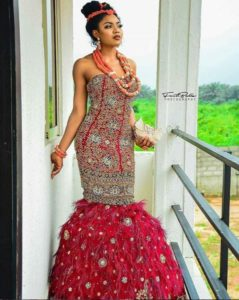 traditional marriage dress for igbo bride
