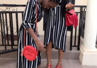 Mercy Aigbe And Daughter In Matching Outfit (Photo)