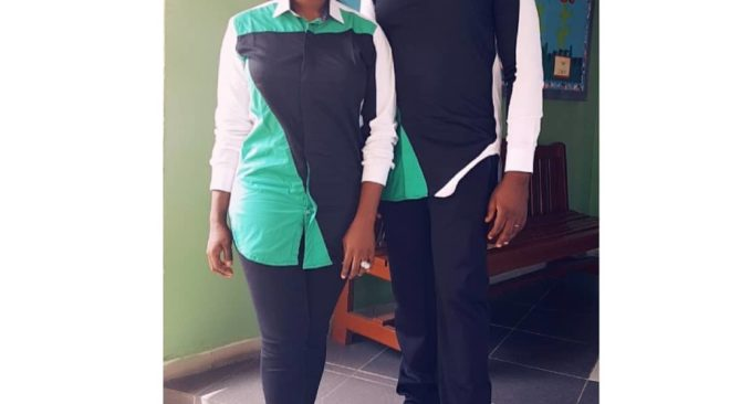 Mercy Johnson Okojie And Husband Step Out In Matching Outfit