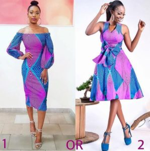 ankara gown for church