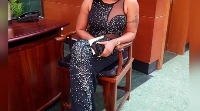 Tayo Sobola Rocks Chic Body-fitting Dress