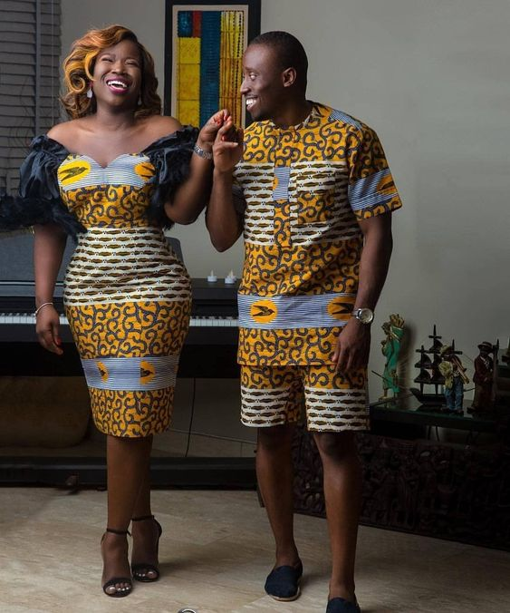 trendy ankara fashion for couples
