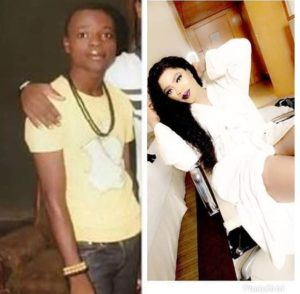 bobrisky's before and after picture