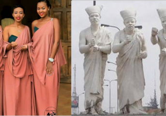 3 Wise-men vs  3 Beautiful Young Ladies - Who wore it better